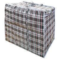 сумка хозяйственная челнока баул клетчатая полипропиленовая
