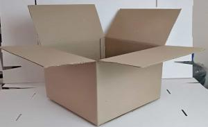 Картонная коробка 400*400*250 мм Скобозашивные_1