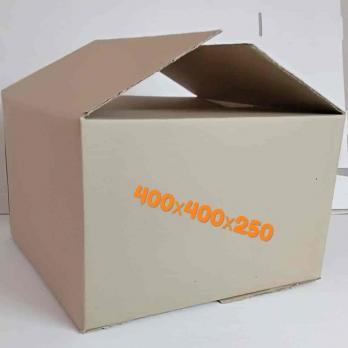 Картонная коробка 400х400х250