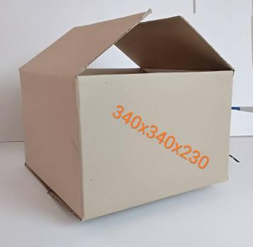 Короб из гофрокартона 340*340*230 мм Скобозашивные