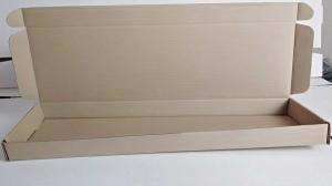 Плоская самосборная коробка 600-170-40мм_2