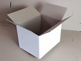Белая картонная коробка 310-210-220 мм_1