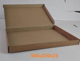 Коробка Самосборная 308х220х25 мм._2