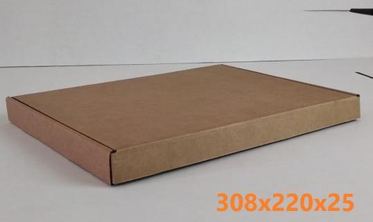 Самосборный почтовый коробок для рамки
