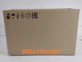 Упаковка 4-х клапанная коробка 395*195*260