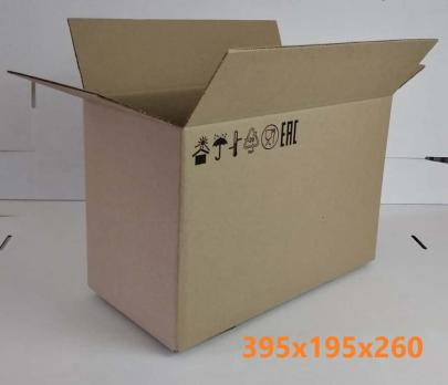 картонная коробка 395*195*260