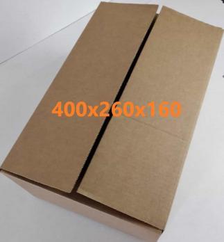 упаковка картонная размер 400*260*160 мм.